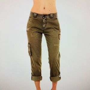 19ac594c74de8 Women's Fitted Army Fatigue Pants on Poshmark